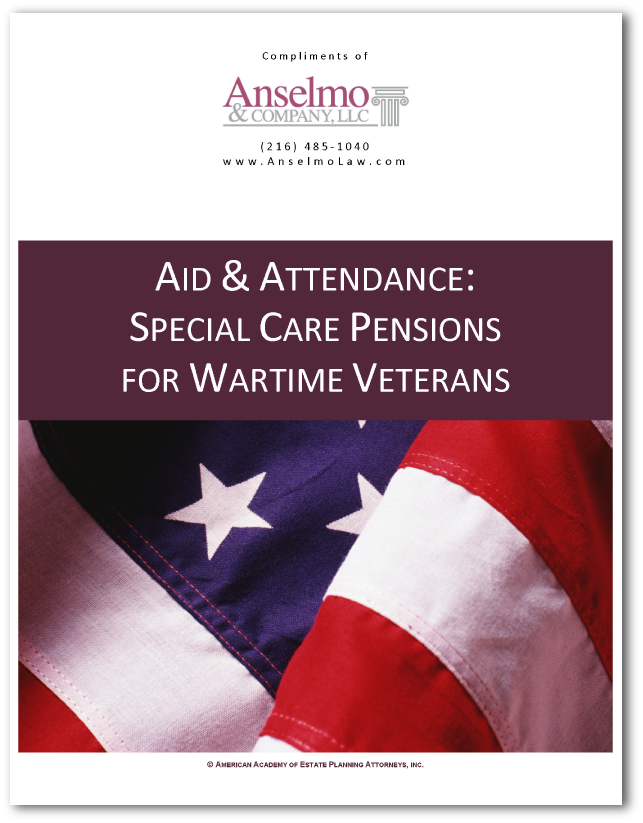 Aid & Attendance - Special Care Pensions Wartime Veterans
